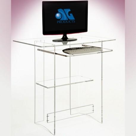 Meubles plexiglass bureau multimedia - Bureau multimedia design ...