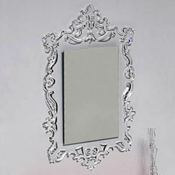 Miroir BAROQUE rectangle incolore