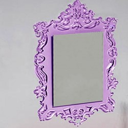 Miroir BAROQUE rectangle couleurs