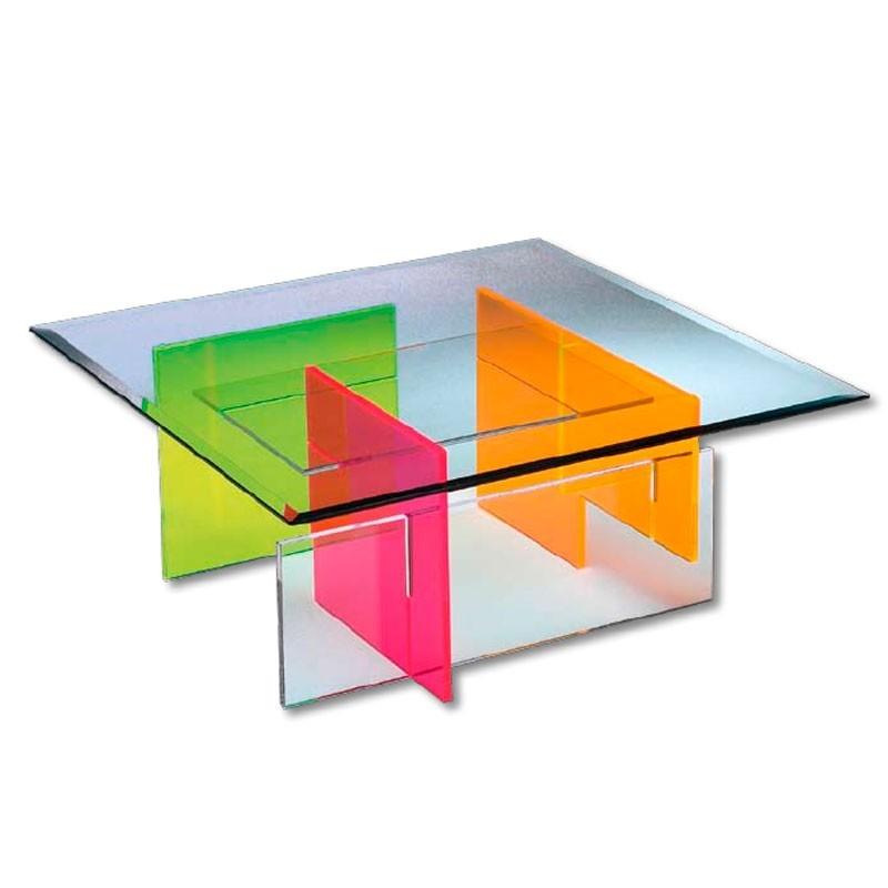 meubles plexiglass meuble tv hi fi jonc incolore. Black Bedroom Furniture Sets. Home Design Ideas