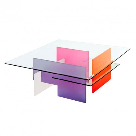 Table basse RIETVELD satinée