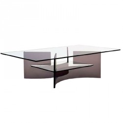 tables basses plexiglass table basse odeon rectangle plexi. Black Bedroom Furniture Sets. Home Design Ideas