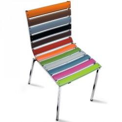 Chaise SCARLETT multicolores