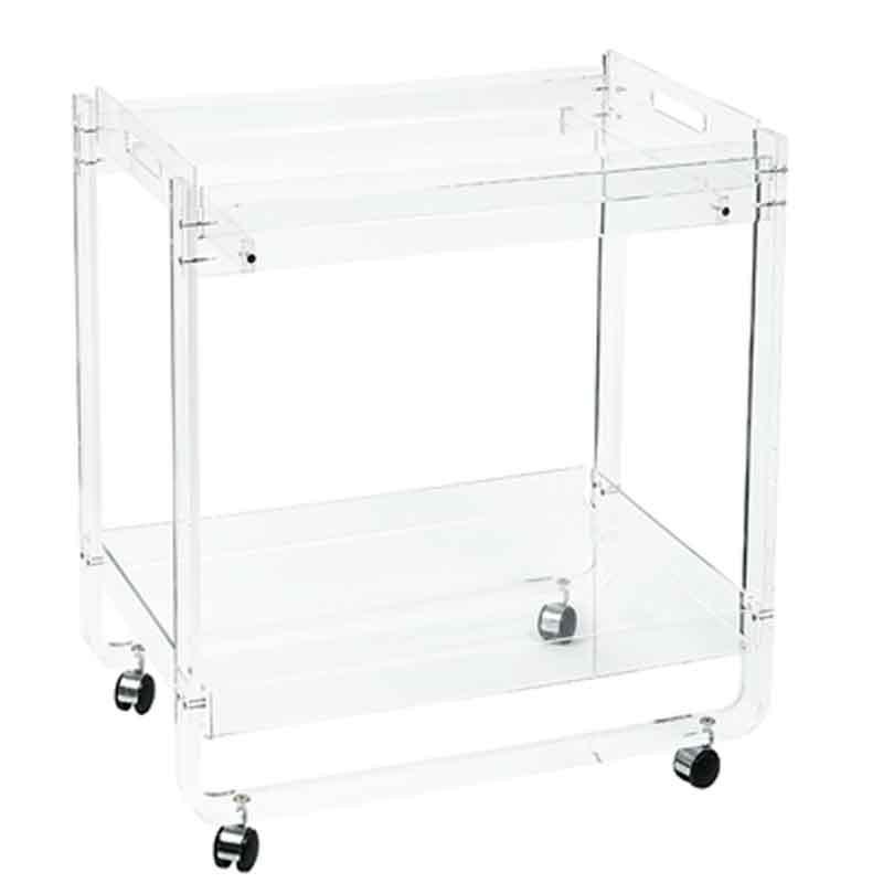 meubles plexiglass bar roulant plateau amovible. Black Bedroom Furniture Sets. Home Design Ideas