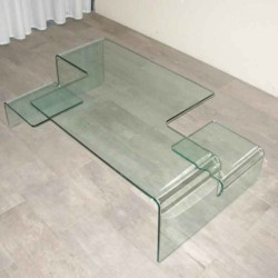 tables basses plexiglass table basse modena fum e. Black Bedroom Furniture Sets. Home Design Ideas