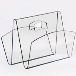 Magazine rack WEEK clear