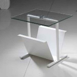 Side table Vista White