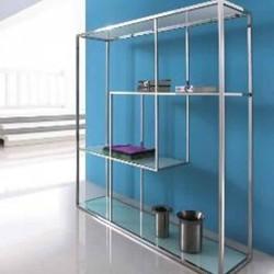 Silver Bookcase