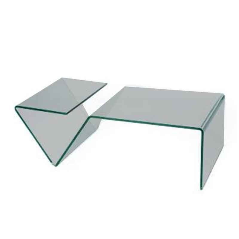 tables basses plexiglass table basse kyoto carr e. Black Bedroom Furniture Sets. Home Design Ideas