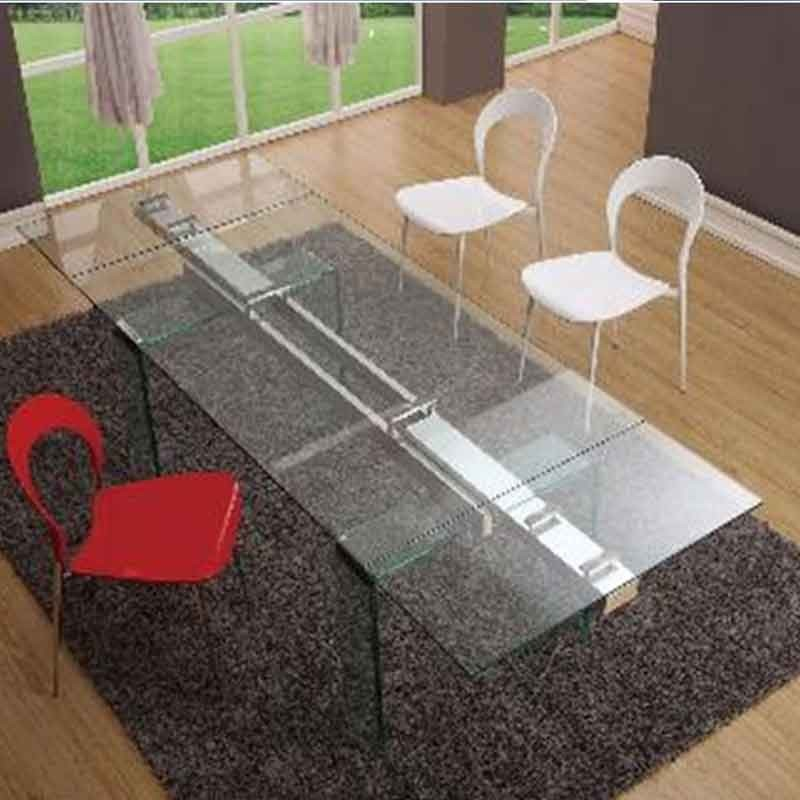 tables basses plexiglass table basse pont carr e. Black Bedroom Furniture Sets. Home Design Ideas