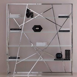 Bookcase KAGE clear