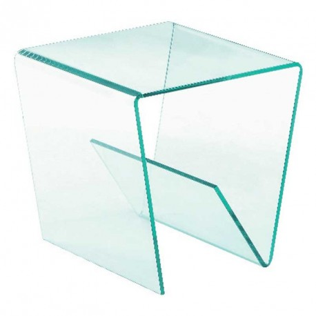 Coffee Tables Plexi Side Table Aspen Clear