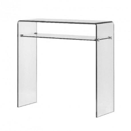 Furniture plexi - ECO 2 Console clear gl on