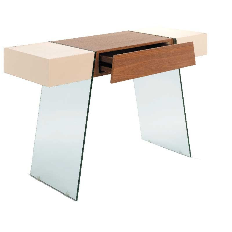 Coffee tables plexi coffee table marbella sanded glass - Table basse fer forge verre ...