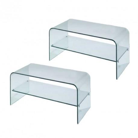 magasin en ligne f3b7f dcee2 Furniture plexi - TV stand DALLAS 800