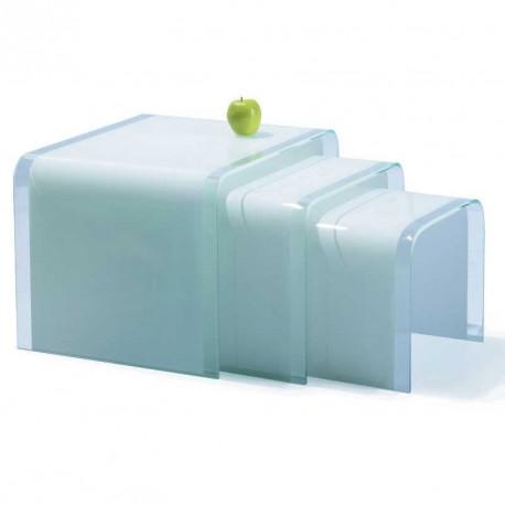 meubles galea selection tables gigognes white. Black Bedroom Furniture Sets. Home Design Ideas
