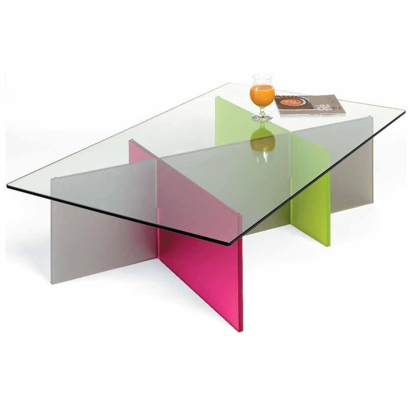 tables basses plexiglass table basse trio plexi satin. Black Bedroom Furniture Sets. Home Design Ideas