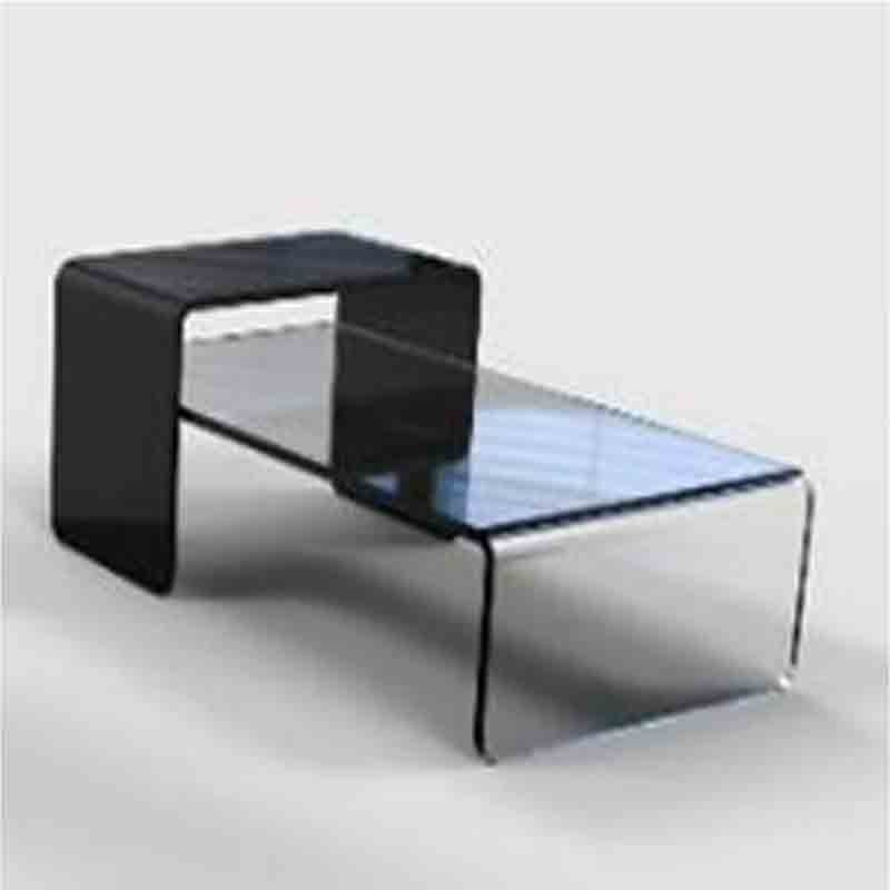tables basses plexiglass table basse plessy fluo. Black Bedroom Furniture Sets. Home Design Ideas