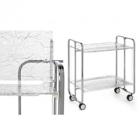 art de la table plexiglass table roulante et pliante 2. Black Bedroom Furniture Sets. Home Design Ideas