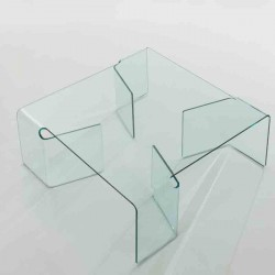 tables basses plexiglass table basse verona. Black Bedroom Furniture Sets. Home Design Ideas