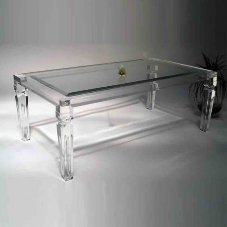 tables basses plexiglass table basse angela grande. Black Bedroom Furniture Sets. Home Design Ideas