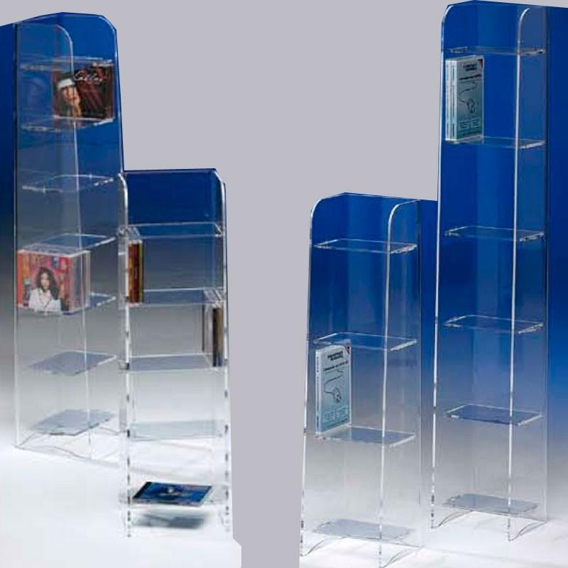 meubles plexiglass colonne clips grand mod le 80 dvd. Black Bedroom Furniture Sets. Home Design Ideas