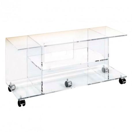 meubles plexiglass meuble tv image. Black Bedroom Furniture Sets. Home Design Ideas