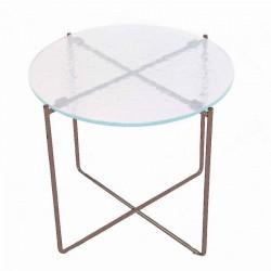 Table basse LIVIA 1 bronze