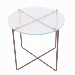 Table basse LIVIA 1 bronze