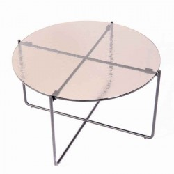 Table basse LIVIA 2 bronze