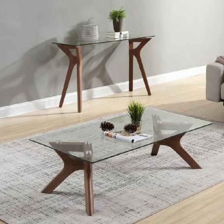 console et table basse assortie