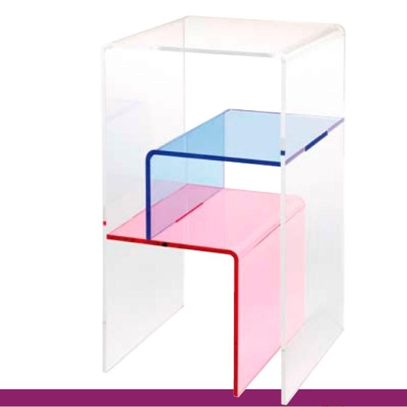 meubles plexiglass table t l phone fantasy incolore. Black Bedroom Furniture Sets. Home Design Ideas
